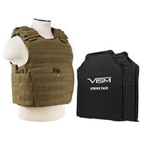 """Compare Prices Of  NcSTAR Vism Expert Ballistic Plate Carrier Vest with Two 11x14"""" Soft Panels, Fits Medium - 2XL, Tan"""