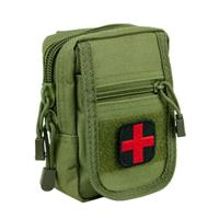 Image of NcSTAR Vism Law Enforcement Compact Trauma Kit 1, Green