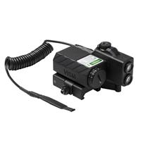 Image of NcSTAR Vism Offset Green Laser Designator with Navigation LEDs, Black