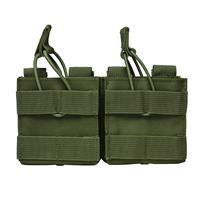 Image of NcSTAR Vism Dual Magazine Pouch for Two 20 Round .308/7.62 Caliber Magazines, Green