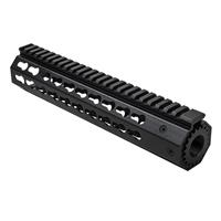 "Image of NcSTAR Vism 10"" KeyMod Free Float Handguard for Smith & Wesson M&P 15-22 Rifles, Black"