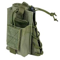 Image of NcSTAR Vism Stock Riser Cheek Pad with Mag Pouch, Green