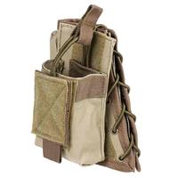 Compare Prices Of  NcSTAR Vism Stock Riser Cheek Pad with Mag Pouch, Tan