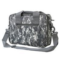 Image of NcSTAR Vism Soft Padded Double Pistol Range Bag, Digital Camo