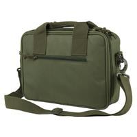 Image of NcSTAR Vism Soft Padded Double Pistol Range Bag, Green