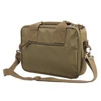 Image of NcSTAR Vism Soft Padded Double Pistol Range Bag, Tan