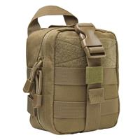 Image of NcSTAR Vism Small MOLLE EMT Pouch, Tan