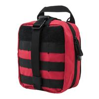 Image of NcSTAR Vism MOLLE EMT Pouch, Red with Black Trim