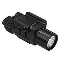 Image of NcSTAR Vism GEN3 Pistol Red Laser with Flashlight, 200 Lumens with Strobe, Picatinny Mount