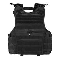 Image of NcSTAR Vism Expert Ballistic Plate Carrier Vest, Fits X-Small to Small, Black