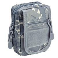 Image of NcSTAR Vism Small Utility Pouch, MOLLE Compatible, Digital Camouflage