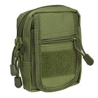 Image of NcSTAR Vism Small Utility Pouch, MOLLE Compatible, Green