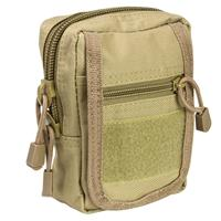 Image of NcSTAR Vism Small Utility Pouch, MOLLE Compatible, Tan