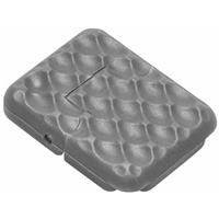 Image of NcSTAR Vism KeyMod 1 Slot Cover, 18 Pack, Urban Gray