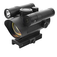 Image of NcSTAR Vism Red Dot with Integrated Green Laser and Flashlight