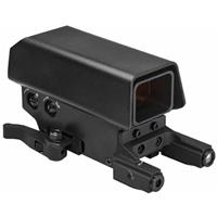 Image of NcSTAR Vism Urban Dot Sight with Green Laser and Red/White Navigation LED Light, QR Picatinny Mount