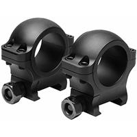"""Image of NcSTAR Vism Hunter Series VR30H09 30mm Scope Ring, 0.9"""" Height, Pair"""