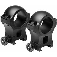 """Image of NcSTAR Vism Hunter Series VR30H13 30mm Scope Ring, 1.3"""" Height, Pair"""