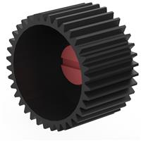 """Image of Vocas 18mm/0.71"""" Wide Drive Gear for MFC-2 Follow Focus System, 0.8 Gear Pitch, 36 Teeth"""