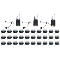 VocoPro One Way Communication System for TV and Film Production, 30 Receivers, 900MHz
