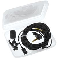 Image of Voice Technologies VT506Video Miniature Omnidirectional Lavalier Microphone with 3.5mm TRS Connector for DSLR Video Cameras