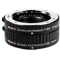 Image of Viltrox DG-M43 Automatic Extension Tube Set for Micro Four Thirds Lens & Panasonic/Olympus Mirrorless Cameras