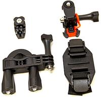 Image of Vivitar Action Pro Series All-In-1 Bike Kit for GoPro & Action Cameras, Includes Handle Bar & Bike Seat Mount, Vented Helmet Mount