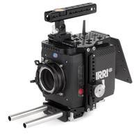 "Image of Wooden Camera Wooden Camera Base Accessory Kit for ARRI Alexa Mini Camera, Includes Quick Cage (Alexa Mini + LW), 2x 15mm Rod (6""), NATO Handle Kit (Plus, 100mm), Battery Slide"