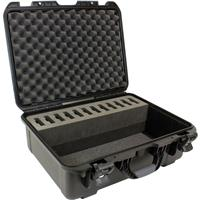 Williams Sound Large Heavy-duty Carry Case with Foam for 12x Digi-Wave DLT 100 Transceivers or DLR 50 Digital Receivers