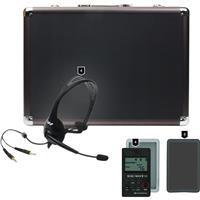 Williams Sound DWS COM 4 300 Digi-Wave 300 Wireless Intercom System with 4 Transceivers, 4 Headset Microphones, 1 Carry Case