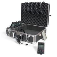 Williams Sound DWS COM 6 300 Digi-Wave Wireless Intercom System, Includes DLT 300 Transceivers, MIC 044 2P Microphones, CCS 030 DW Case, CCS 044 GR/BK Silicone Skins