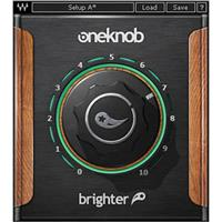 Waves OneKnob Brighter - Intelligent Treble Booster Plug-In, Native/SoundGrid, Download