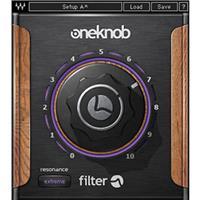 Waves OneKnob Filter - Sweepable Filter Plug-In, Native/SoundGrid, Download