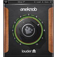 Waves OneKnob Louder - Dynamics Plug-In, Native/SoundGrid, Download