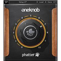 Waves OneKnob Phatter - Bass Enhancement Plug-In, Native/SoundGrid, Download