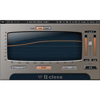 Waves Q-Clone EQ Preset Modeling Plug-In, Native/SoundGrid, Download