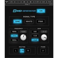 Waves eMo Signal Generator Plug-In, Native/SoundGrid, Download