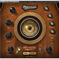 Waves Maserati ACG - Acoustic Guitar Processing Plug-In, Native/SoundGrid, Download