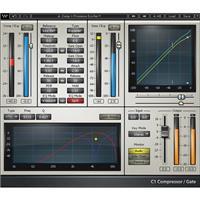Image of Waves C1 Compressor - Dynamic Plug-In, Native/SoundGrid, Download