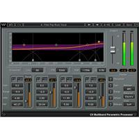 Waves C4 Multiband Compressor Dynamics Processor Plug-In, Native/SoundGrid, Download