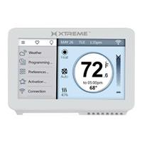 """Compare Prices Of  Xtreme Cables 4.5"""" Wi-Fi Touchscreen Thermostat, White"""