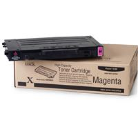 Image of Xerox 106R00681 High-Capacity Magenta Toner Cartridge for Phaser 6100 Series Printer, 5000 Pages Yield