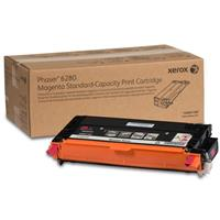 Image of Xerox 106R01389 Standard Capacity Magenta Toner Cartridge for Phaser 6280 Series Printer, 2200 Pages Yield