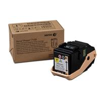 Image of Xerox Standard Capacity Yellow Toner Cartridge for Phaser 7100 Printer, 4500 Pages Yield