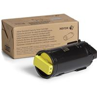 Image of Xerox Yellow Extra High Capacity Laser Toner Cartridge for VersaLink C500/C505 Printer, 9000 Pages Yield