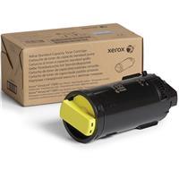 Image of Xerox Yellow Standard Capacity Laser Toner Cartridge for VersaLink C600/C605 Printer, 6000 Pages Yield