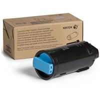 Image of Xerox Cyan Extra High Capacity Laser Toner Cartridge for VersaLink C600 Printer, 16800 Pages Yield