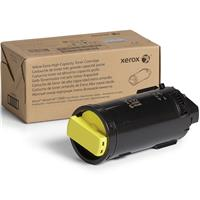 Image of Xerox Yellow Extra High Capacity Laser Toner Cartridge for VersaLink C600 Printer, 16800 Pages Yield