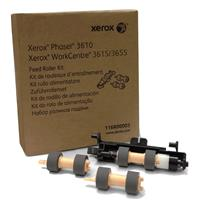 Image of Xerox Media Tray Roller Kit for Phaser 3610 and WorkCentre 3615/3655 Printers, Includes 2x Feed Roll, Roll Assembly
