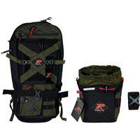 Image of XP Metal Detectors XP Metal Detector Backpack 280 + XP Finds Pouch Bundle, Olive Green